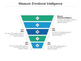 Measure Emotional Intelligence Ppt Powerpoint Presentation Infographics Graphics Cpb