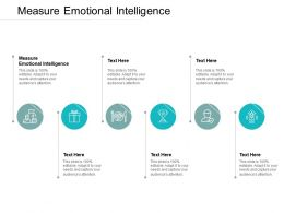 Measure Emotional Intelligence Ppt Powerpoint Presentation Slide Cpb
