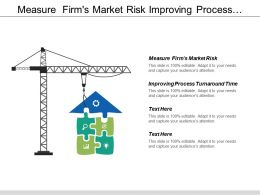 measure firm s market risk improving process turnaround time process leadership cpb