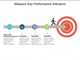 Measure Key Performance Indicators Ppt Powerpoint Presentation Summary Display Cpb