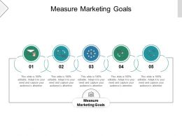 Measure Marketing Goals Ppt Powerpoint Presentation Inspiration Samples Cpb