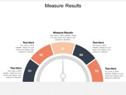 Measure Results Ppt Powerpoint Presentation Ideas Samples Cpb