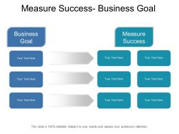Measure Success Business Goal