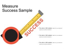 Measure Success Sample