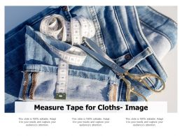 Measure Tape For Cloths Image