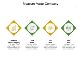 Measure Value Company Ppt Powerpoint Presentation Inspiration Clipart Cpb