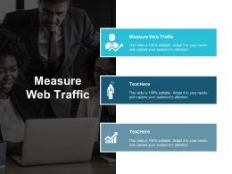 Measure Web Traffic Ppt Powerpoint Presentation Model Example File Cpb
