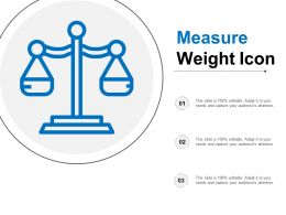 Measure Weight Icon
