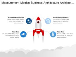 Measurement Metrics Business Architecture Architecture Vision Financial Status