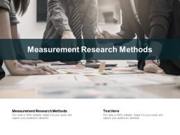 Measurement Research Methods Ppt Powerpoint Presentation Professional Background Cpb