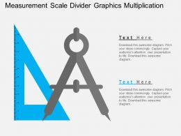 Measurement Scale Divider Graphics Multiplication Flat Powerpoint Design