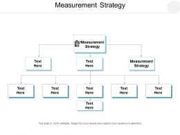 Measurement Strategy Ppt Powerpoint Presentation Inspiration Format Ideas Cpb