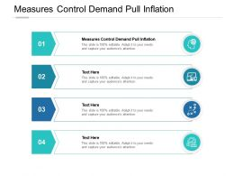 Measures Control Demand Pull Inflation Ppt Powerpoint Presentation Slides Cpb