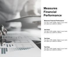 Measures Financial Performance Ppt Powerpoint Presentation File Objects Cpb