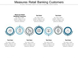 Measures Retail Banking Customers Ppt Powerpoint Presentation Model Cpb