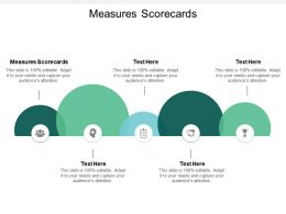 Measures Scorecards Ppt Powerpoint Presentation Model Inspiration Cpb