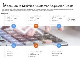Measures To Minimize Customer Acquisition Costs Cycle Ppt Powerpoint Examples