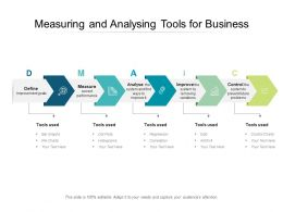 Measuring And Analysing Tools For Business