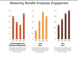 Measuring Benefits Employee Engagement Ppt Powerpoint Presentation Gallery Professional Cpb