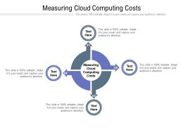 Measuring Cloud Computing Costs Ppt Powerpoint Presentation Inspiration Cpb