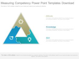 Measuring Competency Powerpoint Templates Download