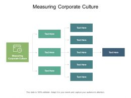 Measuring Corporate Culture Ppt Powerpoint Presentation Gallery Model Cpb