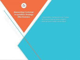 Measuring Customer Acquisition Strategy Effectiveness Console Report Ppt Introduction