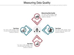 Measuring Data Quality Ppt Powerpoint Presentation Model Ideas Cpb