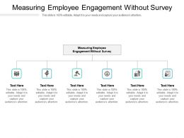 Measuring Employee Engagement Without Survey Ppt Powerpoint Presentation Infographics Cpb