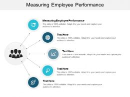 Measuring Employee Performance Ppt Powerpoint Presentation Show Graphics Example Cpb