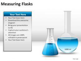 Measuring Flasks Powerpoint Presentation Slides