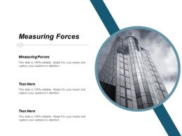 Measuring Forces Ppt Powerpoint Presentation Infographics Templates Cpb