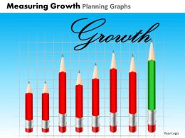 Measuring Growth Planning Graphs Powerpoint Slides And Ppt Templates DB