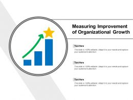 Measuring Improvement Of Organizational Growth