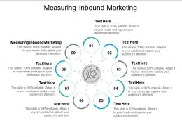Measuring Inbound Marketing Ppt Powerpoint Presentation Ideas Cpb