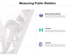 Measuring Public Relation Ppt Powerpoint Presentation Slides Show Cpb