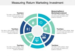Measuring Return Marketing Investment Ppt Powerpoint Presentation Show Example Cpb
