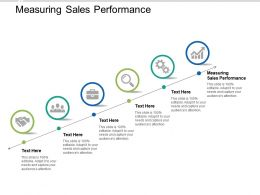 Measuring Sales Performance Ppt Powerpoint Presentation Infographic Template Professional Cpb
