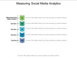 Measuring Social Media Analytics Ppt Powerpoint Presentation Gallery Icons Cpb