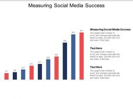 Measuring Social Media Success Ppt Powerpoint Presentation Layouts Icons Cpb