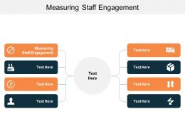 Measuring Staff Engagement Ppt Powerpoint Presentation Slides Design Inspiration Cpb