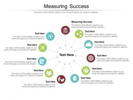 Measuring Success Ppt Powerpoint Presentation File Example File Cpb