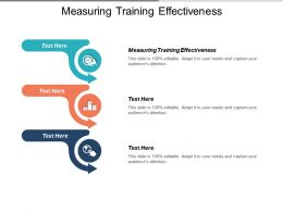 Measuring Training Effectiveness Ppt Powerpoint Presentation Infographic Template Designs Cpb