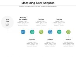 Measuring User Adoption Ppt Powerpoint Presentation Outline Graphics Tutorials Cpb