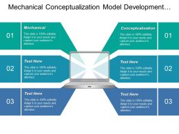 Mechanical Conceptualization Model Development Cycle Performance Requirements Technical Parameters