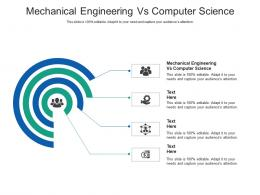 Mechanical Engineering Vs Computer Science Ppt Powerpoint Presentation Examples Cpb