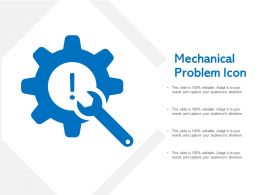 Mechanical Problem Icon