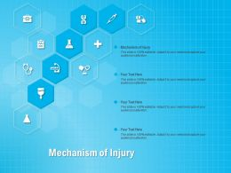 Mechanism Of Injury Ppt Powerpoint Presentation Inspiration Images