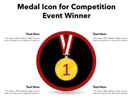 Medal Icon For Competition Event Winner