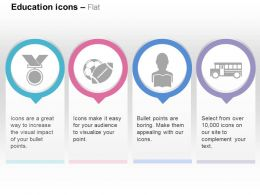medal_sports_read_school_bus_ppt_icons_graphics_Slide01